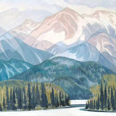 Springtime in the Rockies (Print)