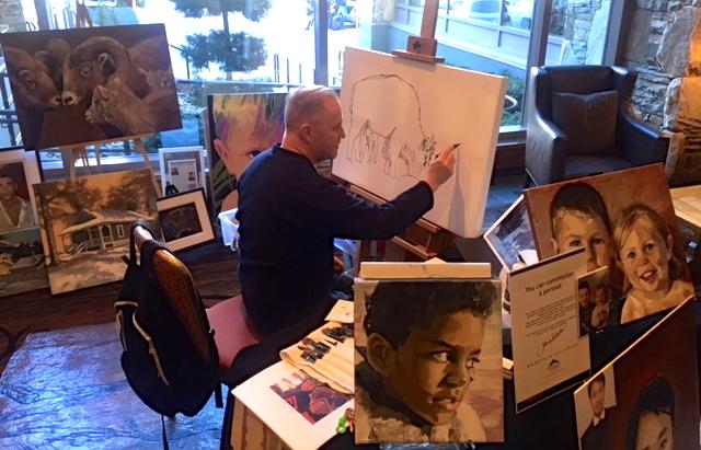 Artist John Webster