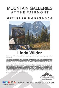 Linda Wilder Artist in Residence