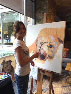 Artist Andrea Moore