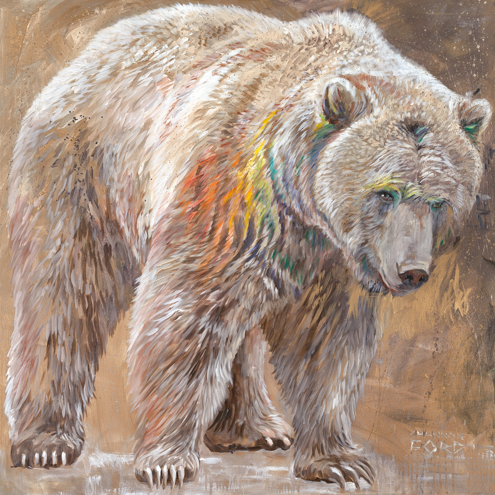 Grizzly Spectrum (Print)