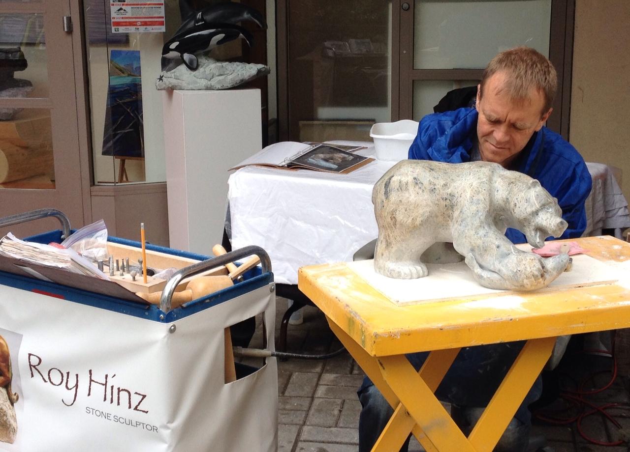 R. Hinz Artist in Residence