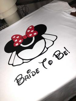 Bride To Be Disney