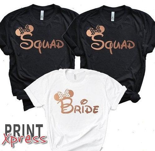 Hen Tshirt - DISNEY SQUAD