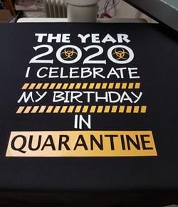 Birthday in Quarantine