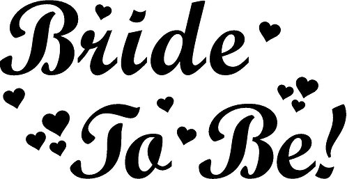 Bride Tshirt - BRIDE TO BE 5