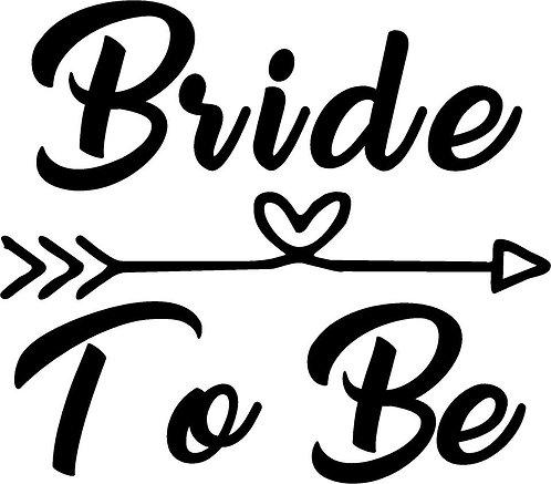 Bride Tshirt - DISNEY BRIDE TO BE