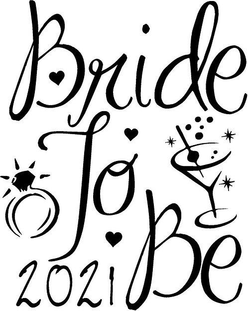 Bride Tshirt - BRIDE TO BE 4