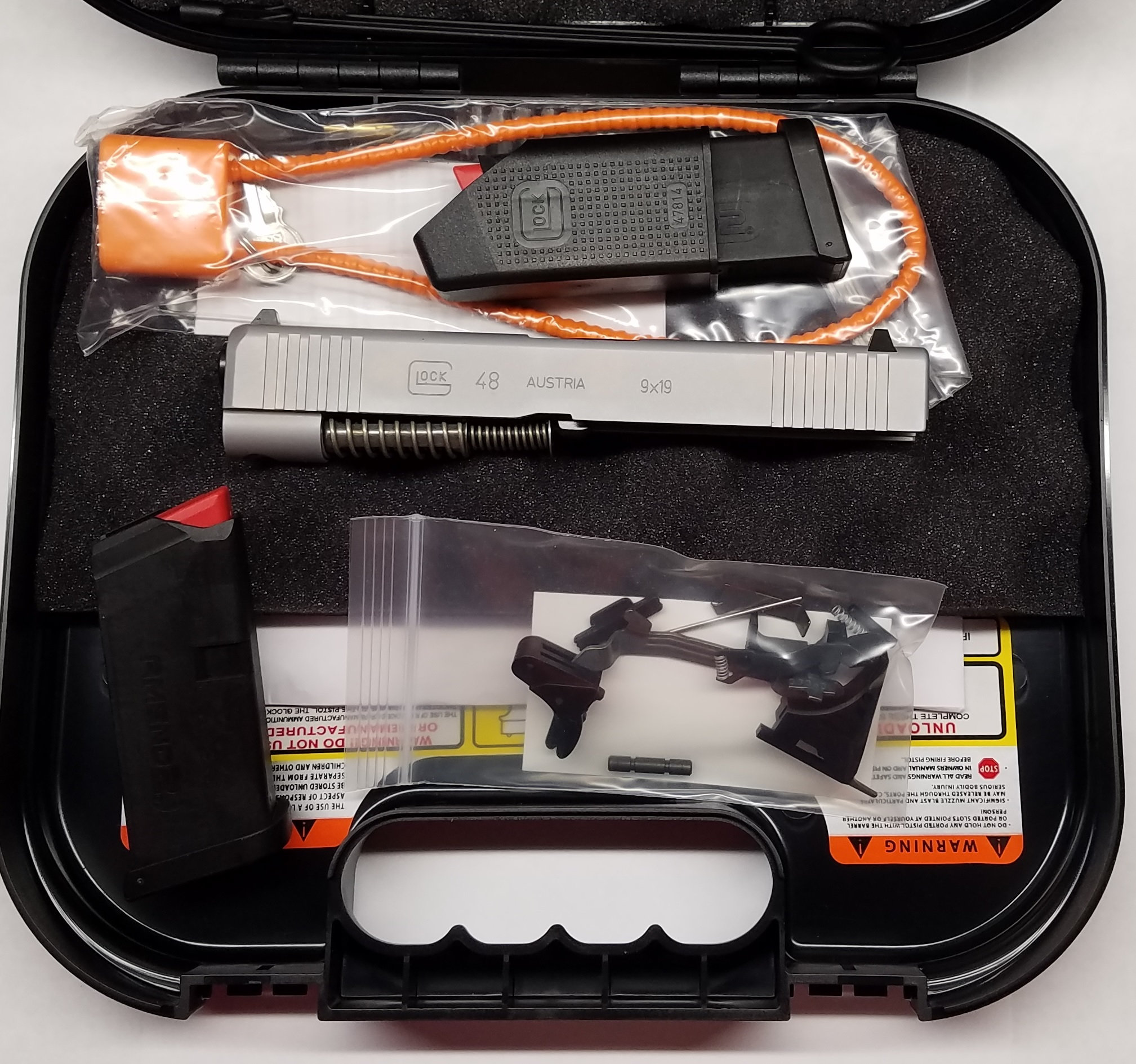 Glock 48 Build Kit to Build on SS80 or 43 Frame