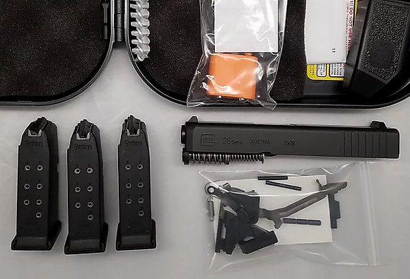 GLOCK 33 Build Kit Gen4 Slide