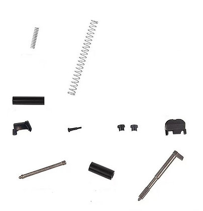 Glock 9MM Slide Parts No Plunger No Recoil Spring