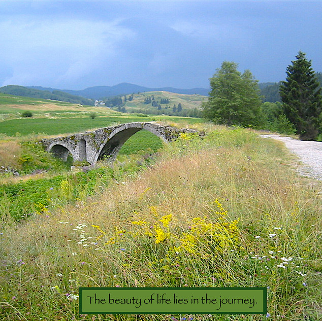 The Beauty of Life Lies in the Journey