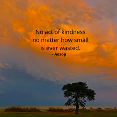Kindness is Never Wasted
