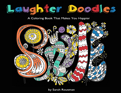 LAUGHTER DOODLES - A Coloring Book