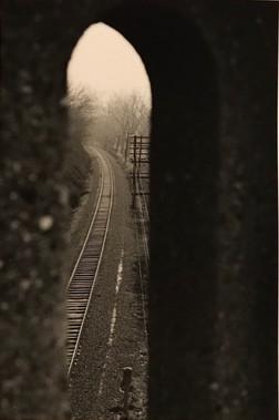 Train Tracks in Athens, Ohio