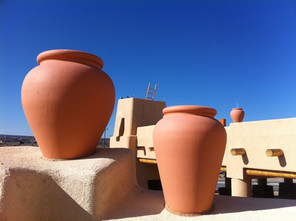 New Mexico Pots on the Roof
