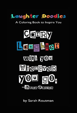 LAUGHTER DOODLES - A Coloring Book to In