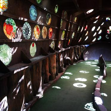 Circles of Light Through Round Windows