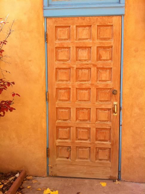 Orange Door in New Mexico