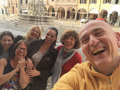 Sharing Laughter in Italy