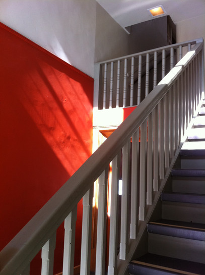 Shadows on a Red Wall