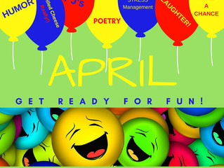 April - It's time for FUN and GAMES!