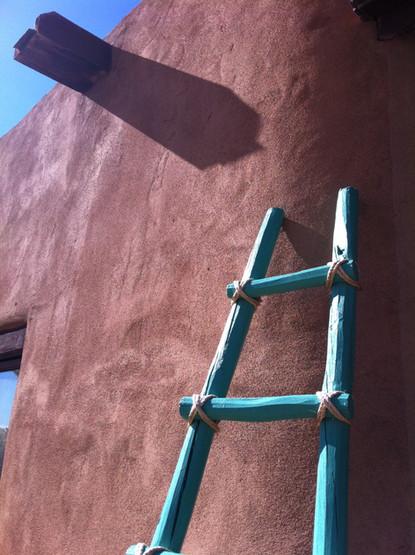 Climbing to the New Mexico Sky