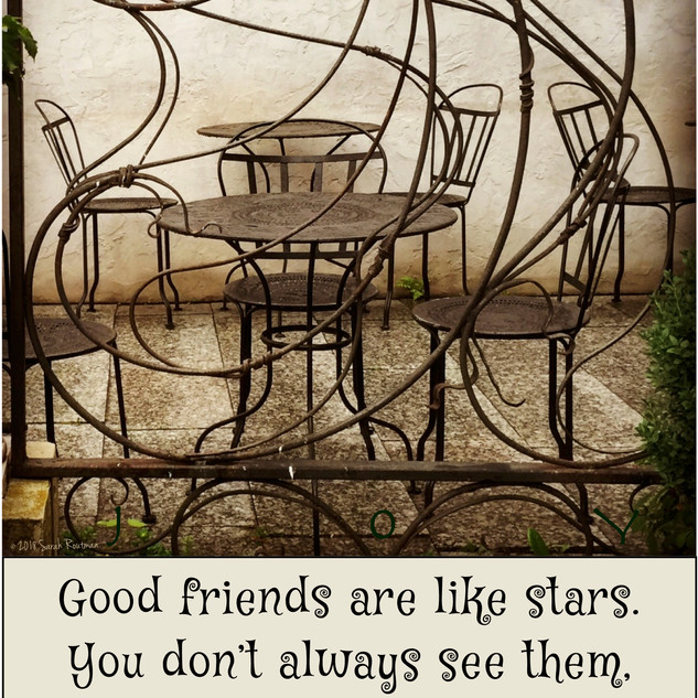 Good Friends Are Always There