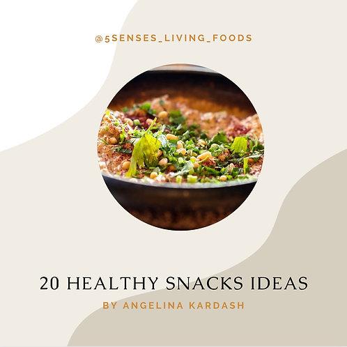 Free 20 Healthy Snack Ideas