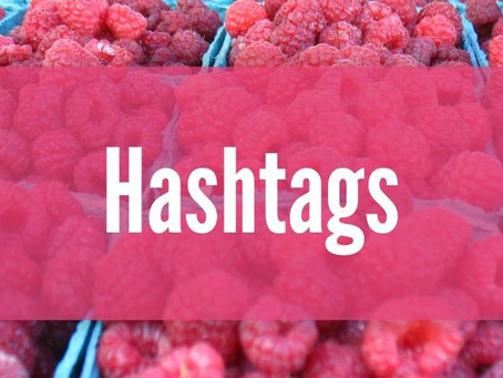 Using Hashtags for Marketing Food Locally