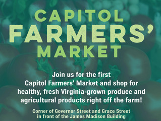 Pop Up Market at the Capitol