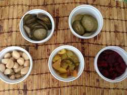 Sweet Sour Salty pickles