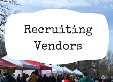 Tips for Recruiting Vendors for Your Market