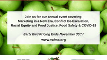 Virginia Farmers Market Conference will be Online in 2021!