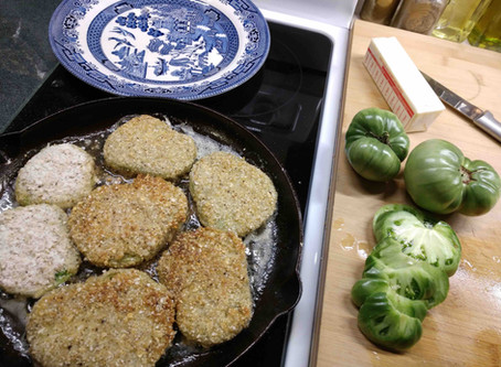 End-of-Season Fried Green Tomatoes