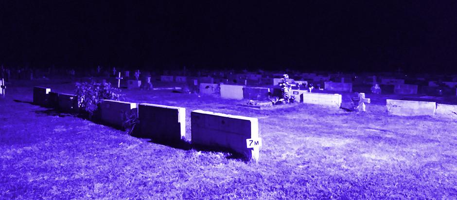 Noche en el Cementerio Marítimo - Relato Personal