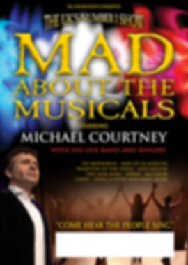 Mad About Musicals (2021) A3 Poster JUNE