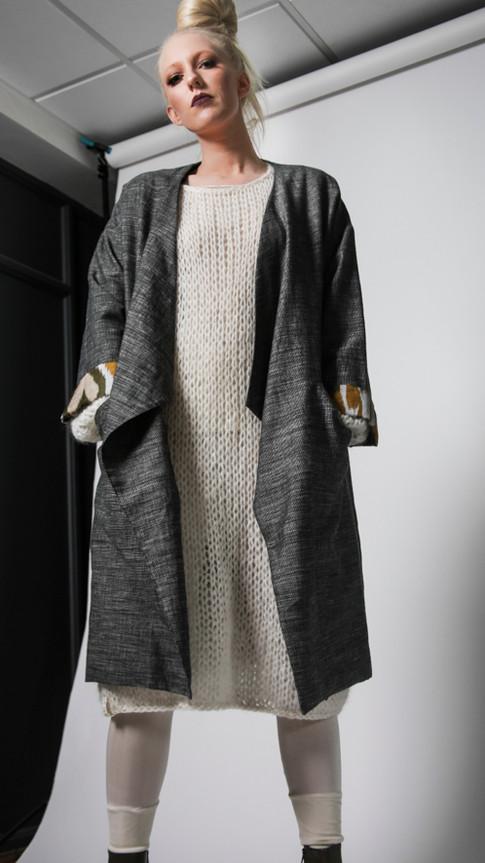 Hemp/wool coat