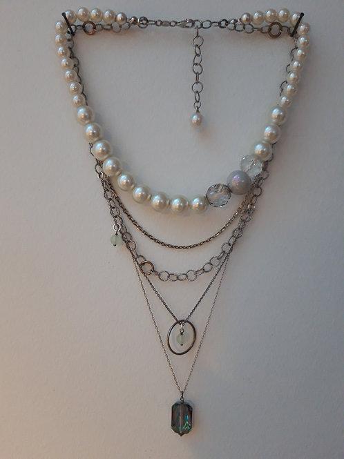 Þakklætisdýrð / Uppcycled jewelry / Silfur