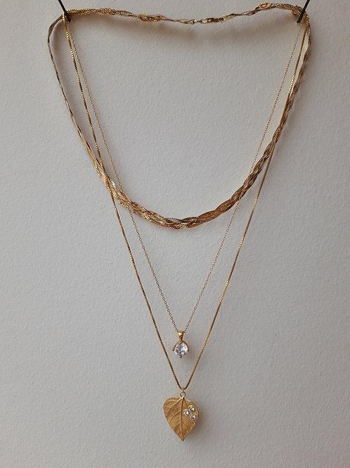Þakklætisdýrð / Upcycled Jewelry gull, silfur og gullhúðað silfur