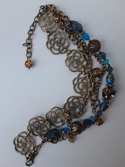 Þakklætisdýrð / Upcycled jewelry - bracelet