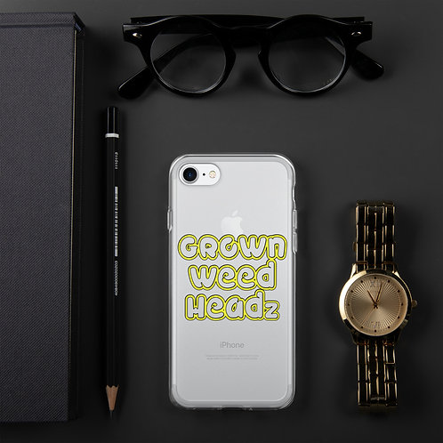 GROWN WEED HEADz iPhone Case