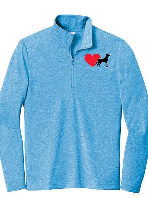 Heart Dane 1/4 Zip