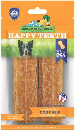 Himalayan Happy Teeth Peanut Butter 2 Pack