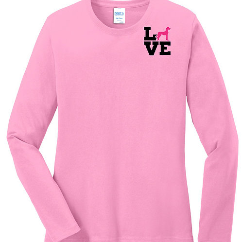 Love Dane Long Sleeve Tee