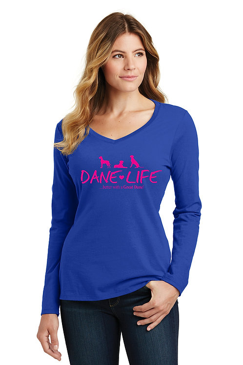 Ladies L/S Tee Dane Life