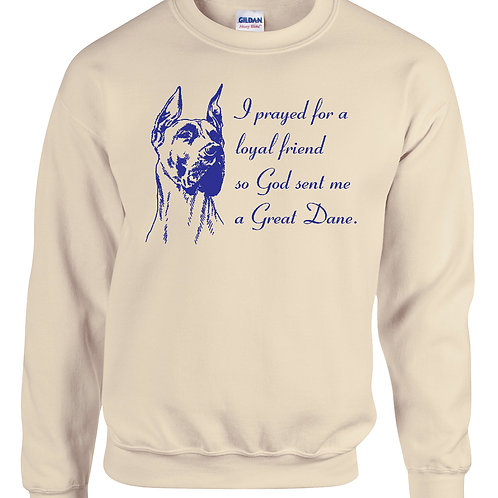 Sweat Shirt Prayer