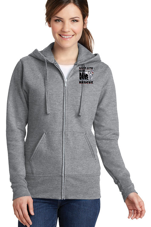 Paws of Austin Full Zip Hoodie