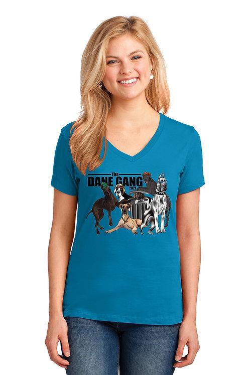 Ladies V-Neck Dane Gang