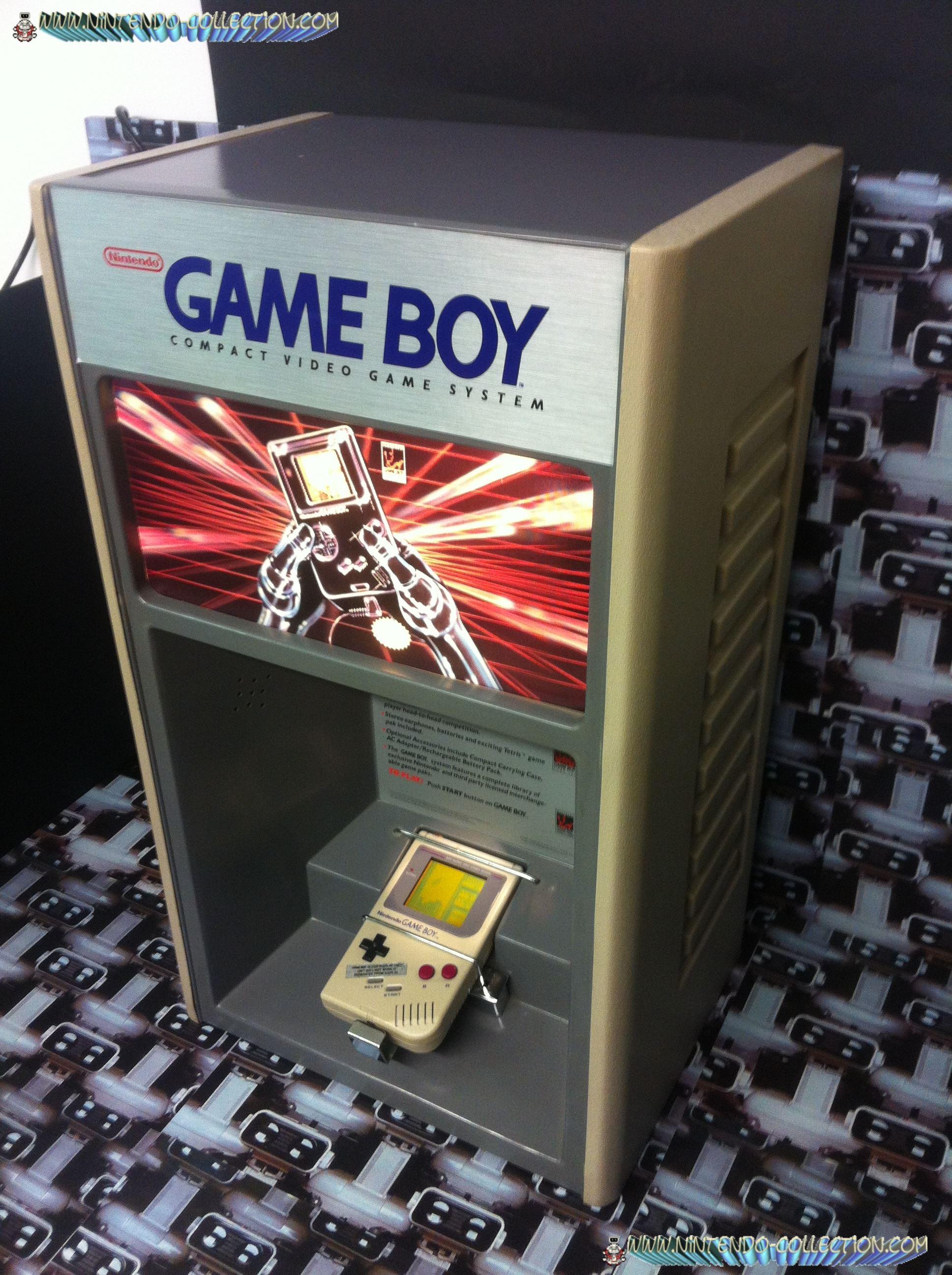 www.nintendo-collection.com - Borne demonstration Gameboy Demo Kiosk - 3